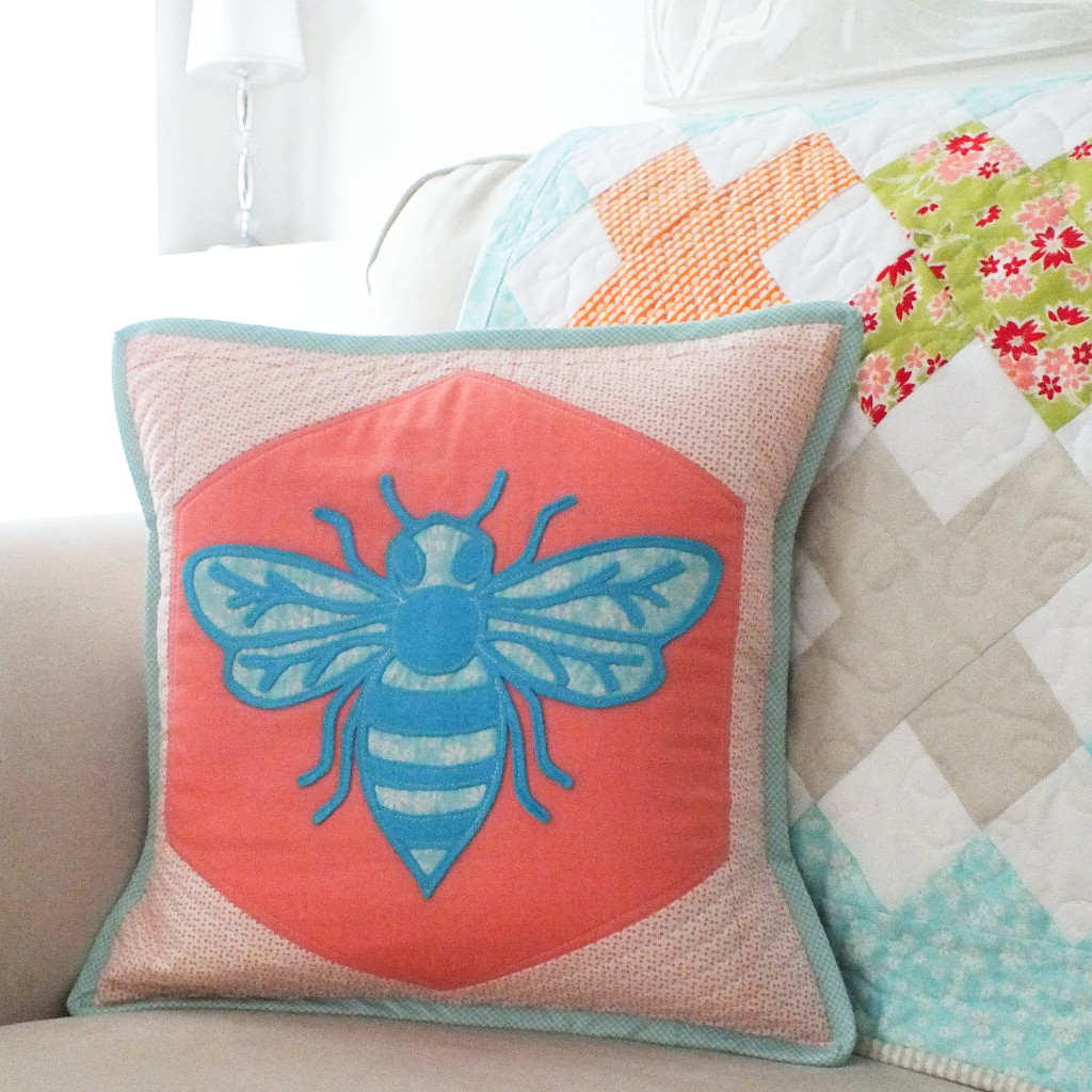 QuiltCon Pillow