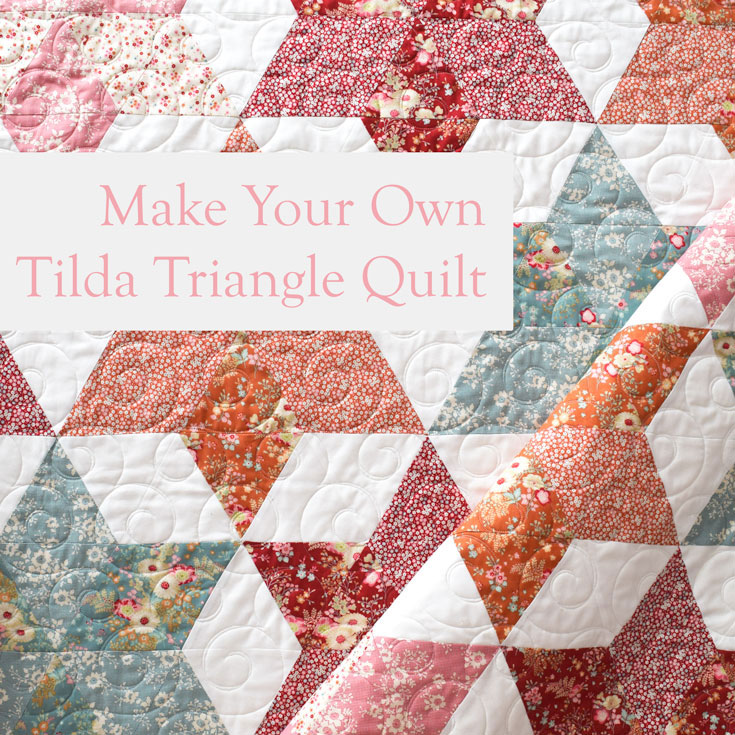 I Made A Triangle Quilt Finally She Quilts Alot
