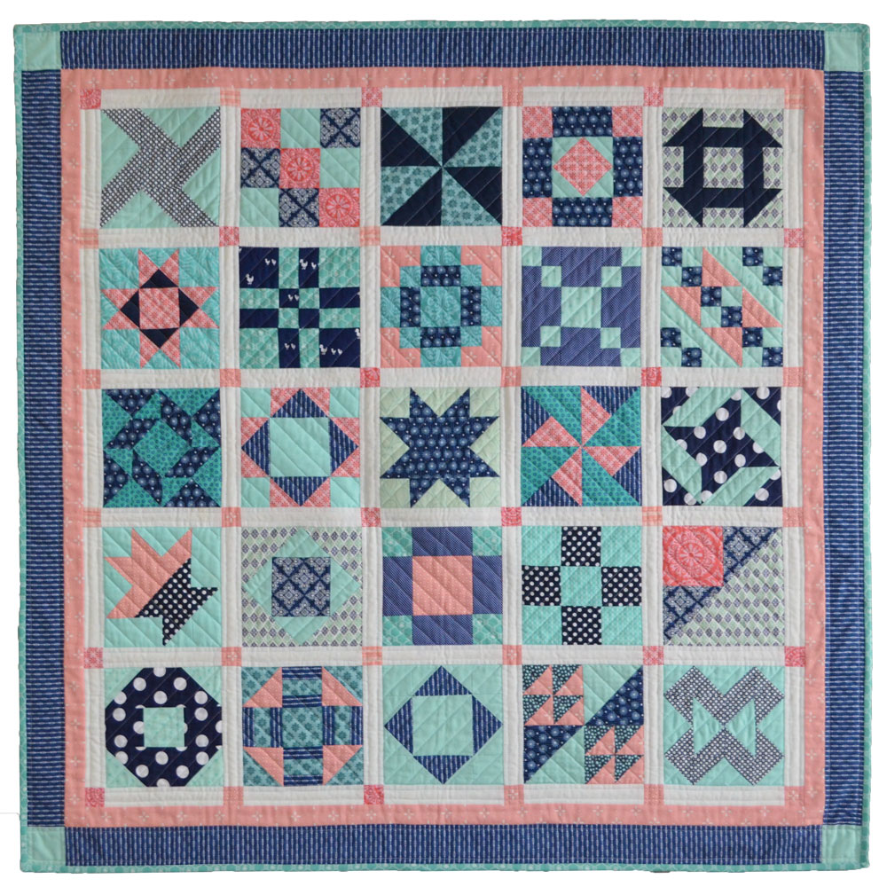 six inch sampler quilt free project she quilts alot