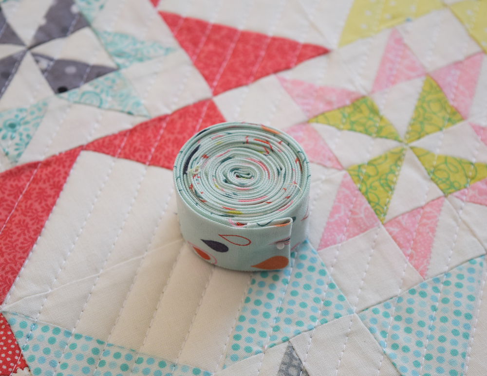 how to make binding on a quilt