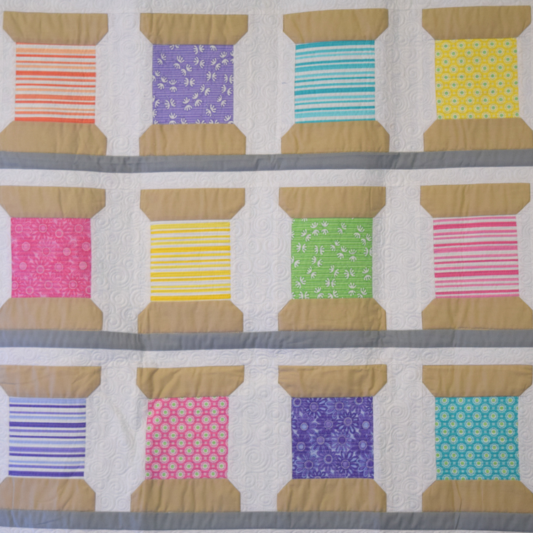 Me & My Sister Spools Charm Pack Quilt