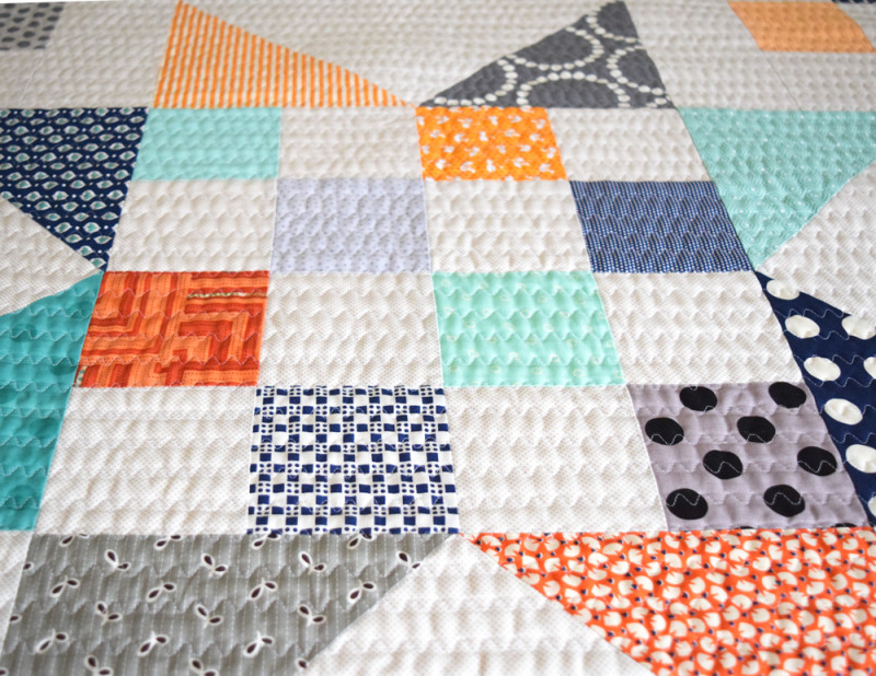 SheQuiltsAlot - Big Baby Quilt from Vintage Vibe