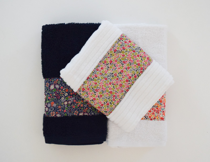 SheQuiltsAlot Liberty Hand Towel Tutorial