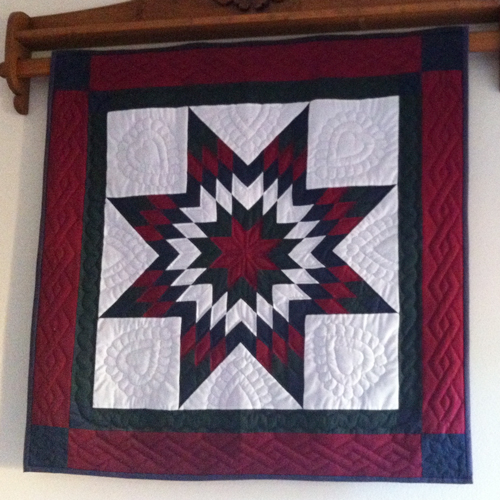 Nantucket Lone Star Quilt – She Quilts Alot : lone star house of quilts - Adamdwight.com