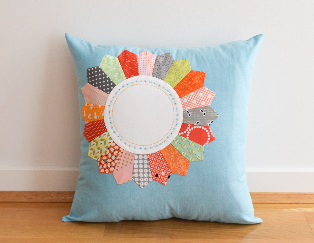 Vintage Vibe Pretty Petals Pillow