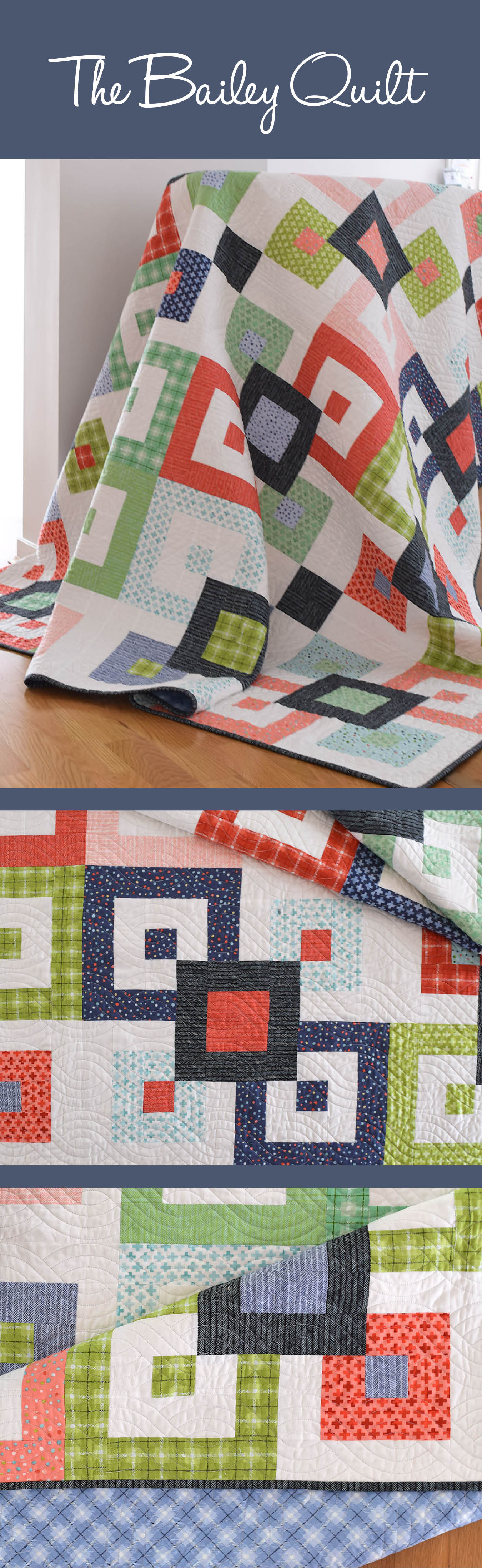 Bailey Quilt Pattern - She Quilts A Lot