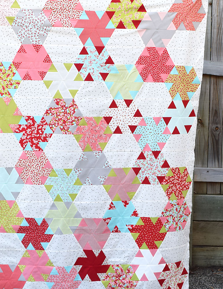 Little Ruby Quiltalong Quilt Top