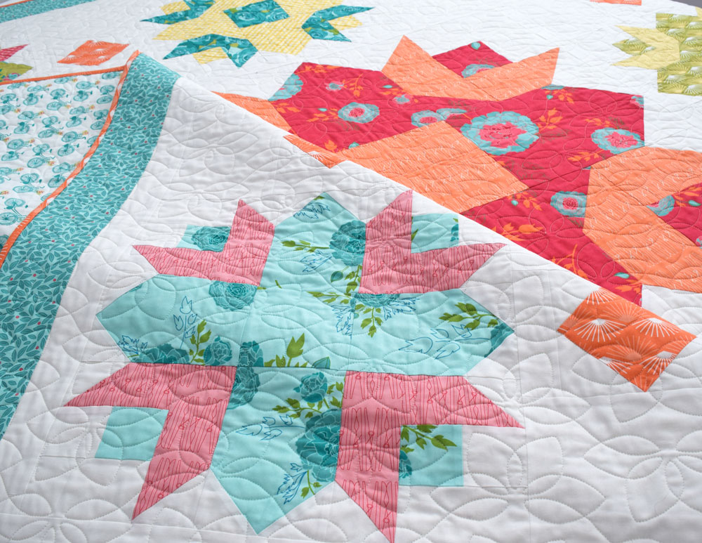 She Quilts A Lot Spring Quilt Pattern