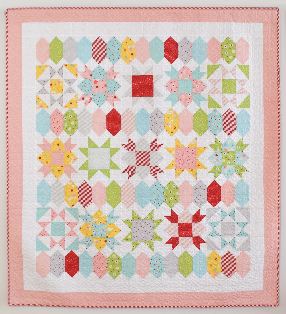 She Quilts A Lot Sweet Stars Quilt Pattern