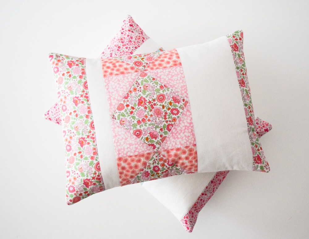 Sweet Sorbet Pillows - Homespun Magazine