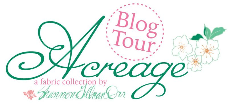 Acreage Blog Tour