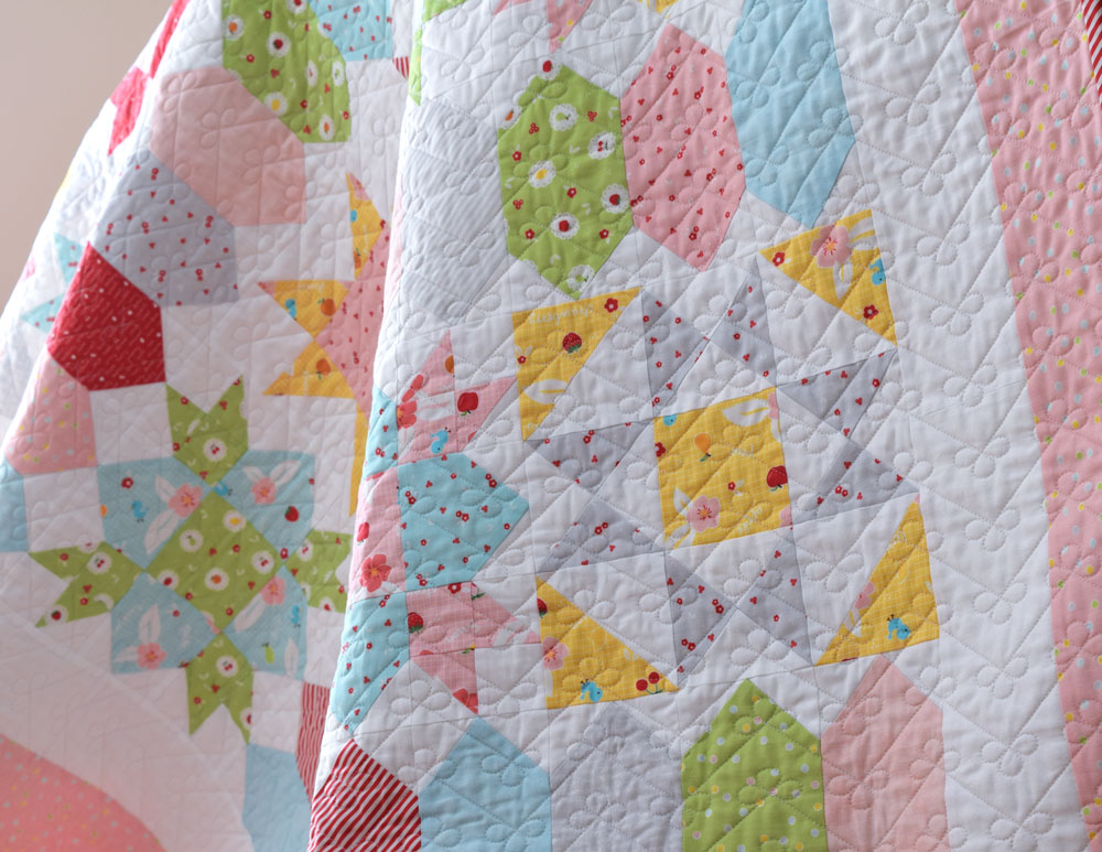 Sweet Stars Quilt - She Quilts A Lot