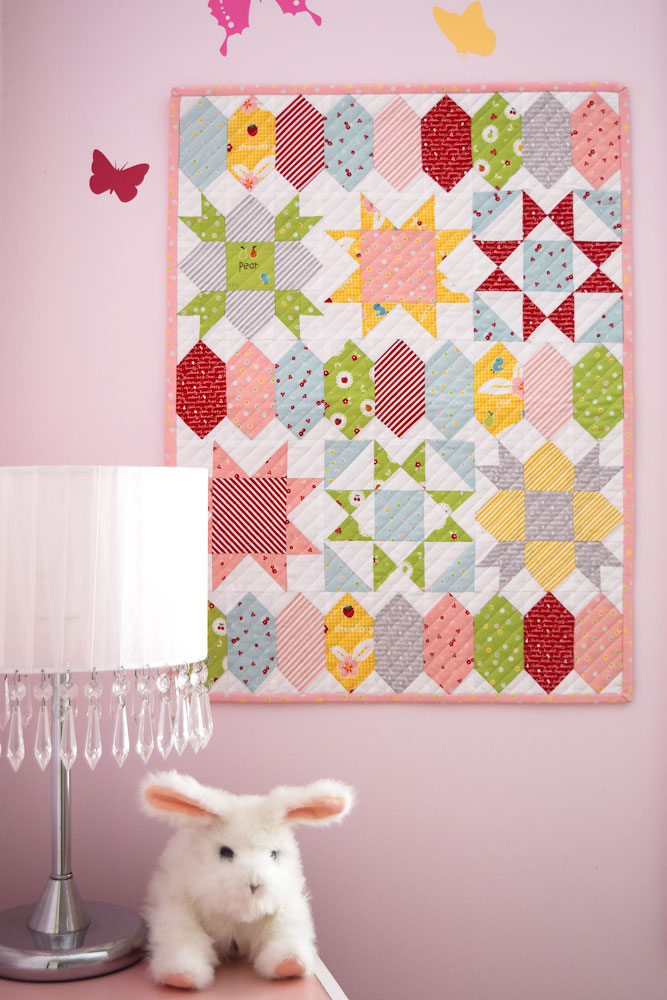 Sweet Stars Mini - She Quilts A Lot