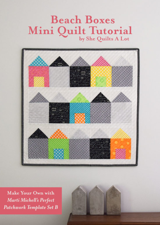 She Quilts A Lot - Marti Michell Mini Blog Hop