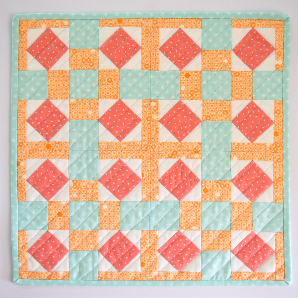 Bloom Mini Quilt Pattern - She Quilts A Lot