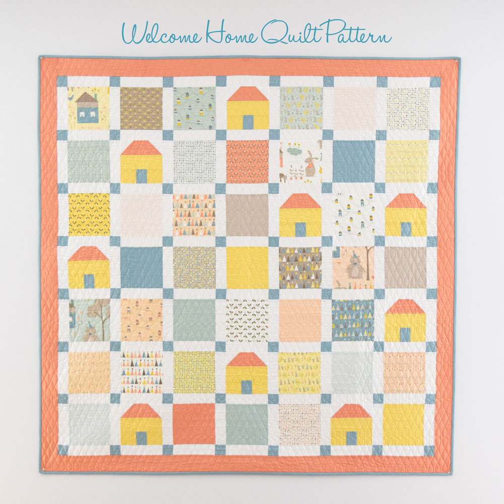 Welcome Home Quilt Pattern - She Quilts A Lot